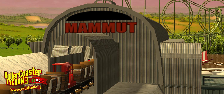 Gardaland mammut stazione roller coaster Tycoon 3 rct3 custom Scenery cs
