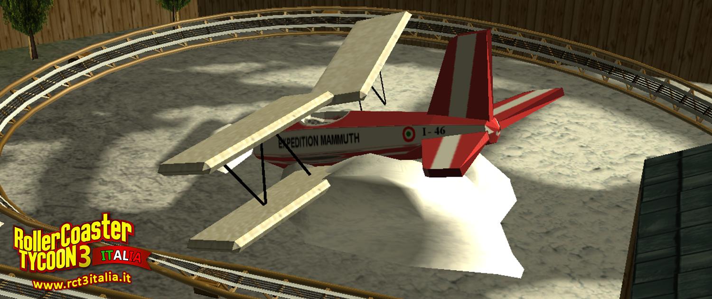 Gardaland mammut aereo roller coaster Tycoon 3 rct3 custom Scenery cs
