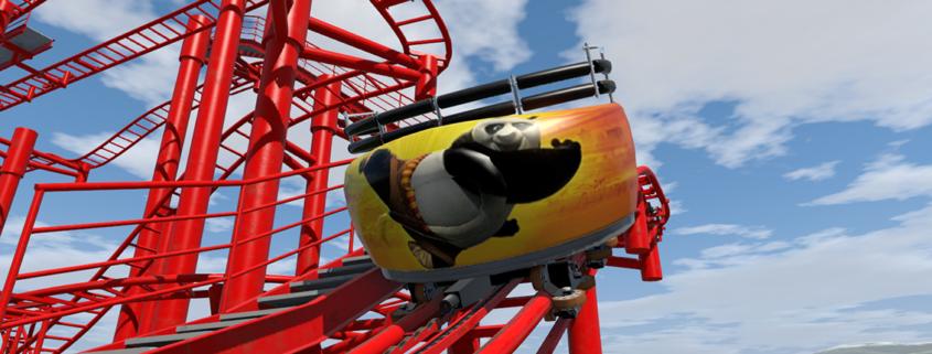 Gardaland Kung Fu Panda Nolimits Coaster