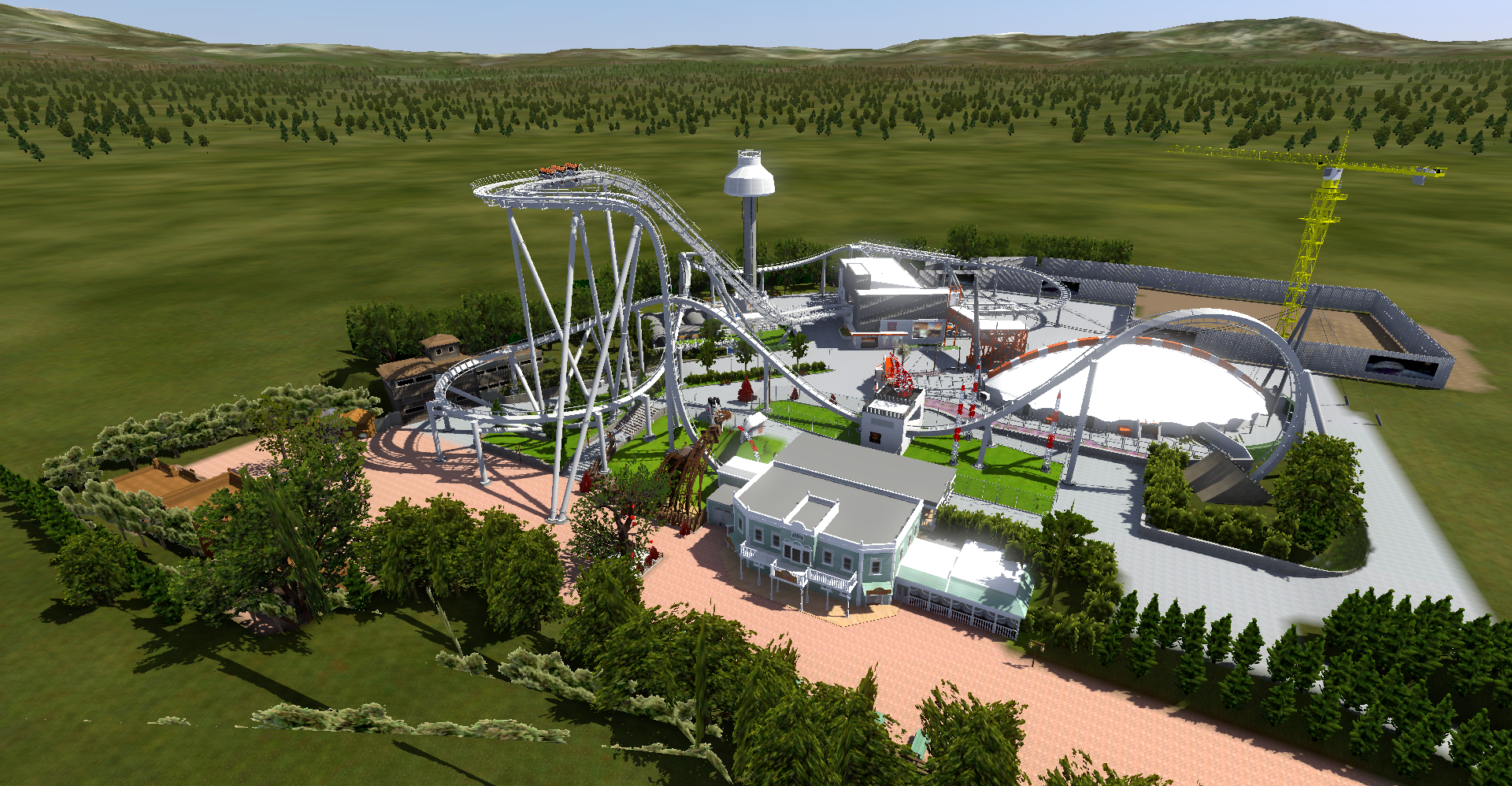 Oblivion v1 Nolimits Coaster