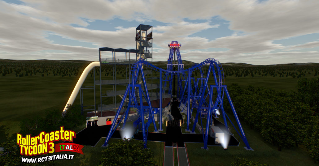 Diabolik invertigo nolimits 2 panoramica