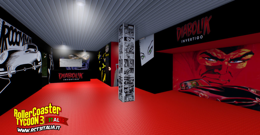 Diabolik invertigo nolimits 2 negozio shop